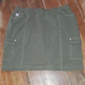 Quackery factory dream jeans skirt XL